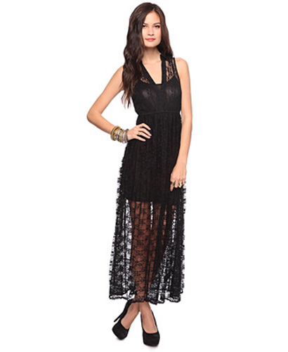 Forever21 Lace Maxi Dress