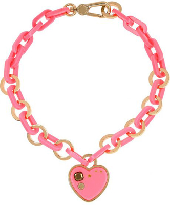 Marc by Marc Jacobs Heart Necklace