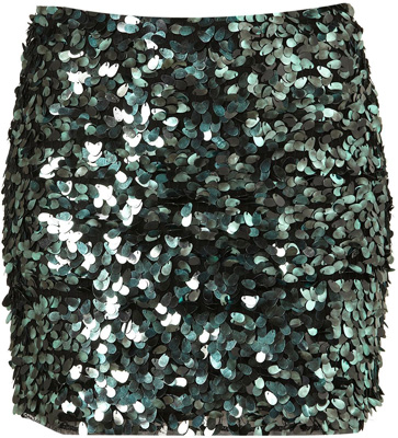 . Topshop Premium Sequin Pelmet Skirt