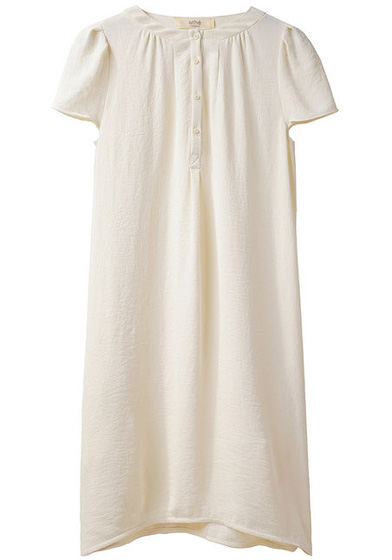 Vanessa Bruno Athé Crepe Henley Dress