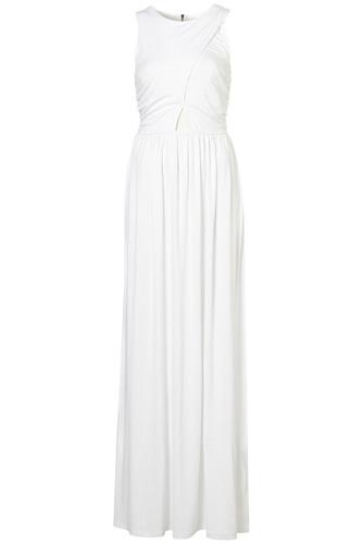 Topshop Wrap Jersey Maxi Dress