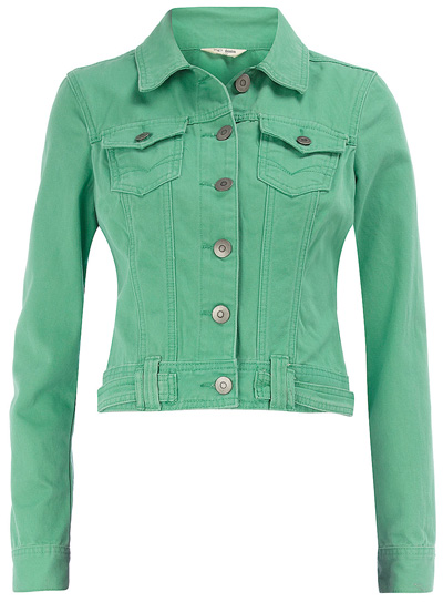 Images of Green Denim Jacket - Reikian