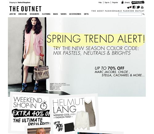 {{The Outnet http://www.theoutnet.com/}}