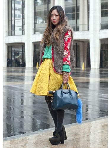 New York Street Fashion 10 Fab Fashion Week Street Style