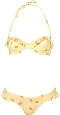 Topshop Frill Underwire Bikini