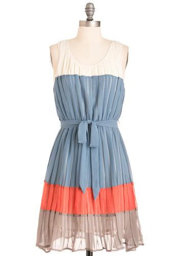 Modcloth Color Block Dress