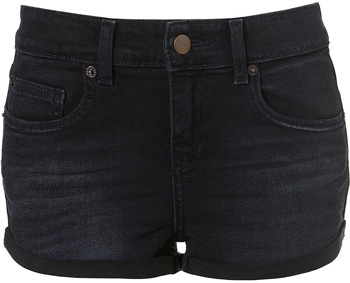 Black Jean Shorts For Women - The Else
