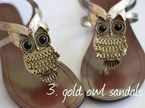 anthro inspired sandals 11 adorable diy owl fashion