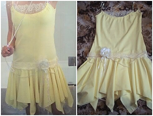 Party dress 16 fantastic flapper fashion diy projects for Diy party dress