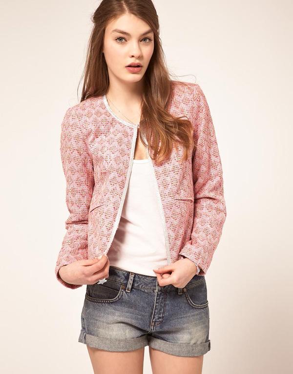 Boucle Jacket Pattern Boucle Jacket With Trim