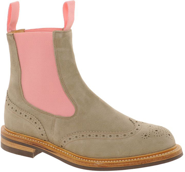 Gray Suede Chelsea Boots - 17 Gorgeous Shoes for plus Size Ladies…