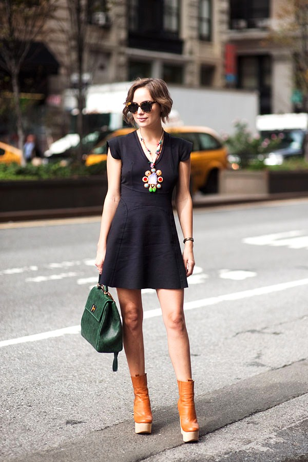 Over a Little Black Dress