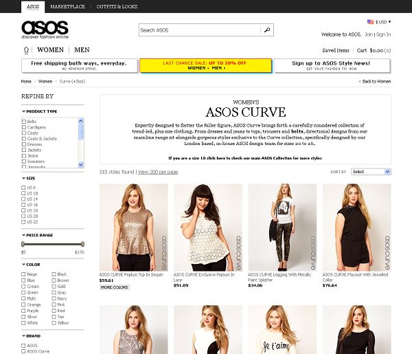 Asos Shopping