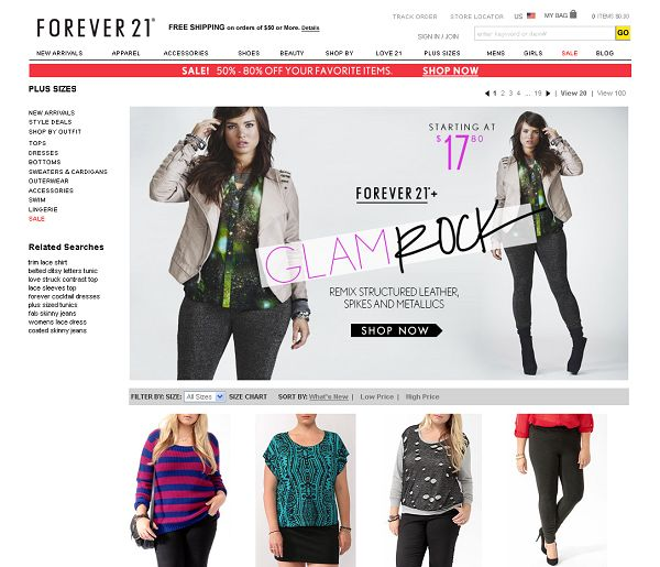 Cheap clothing stores like forever 21 Online clothing stores