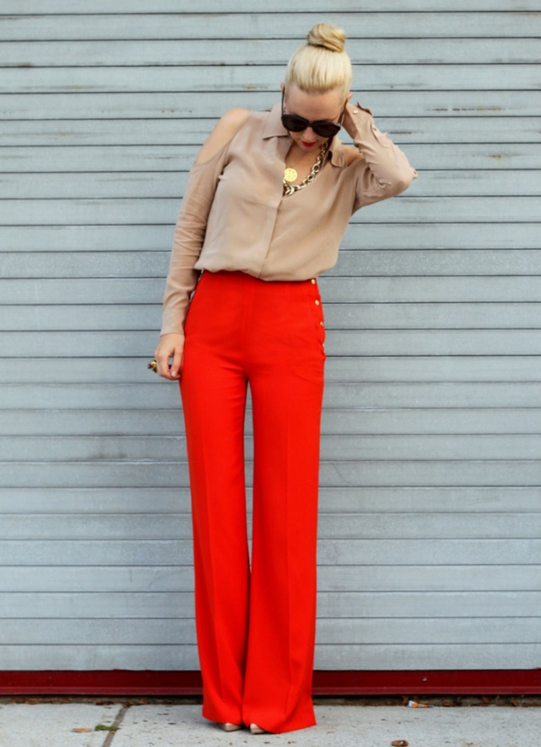 Zara or H&M Colorful Pants