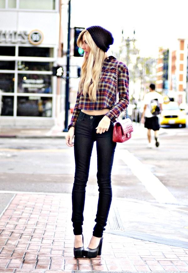 Skinny jeans make you look