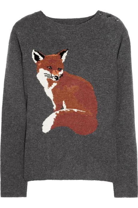 Aubin & Willis Fox Motif Sweater