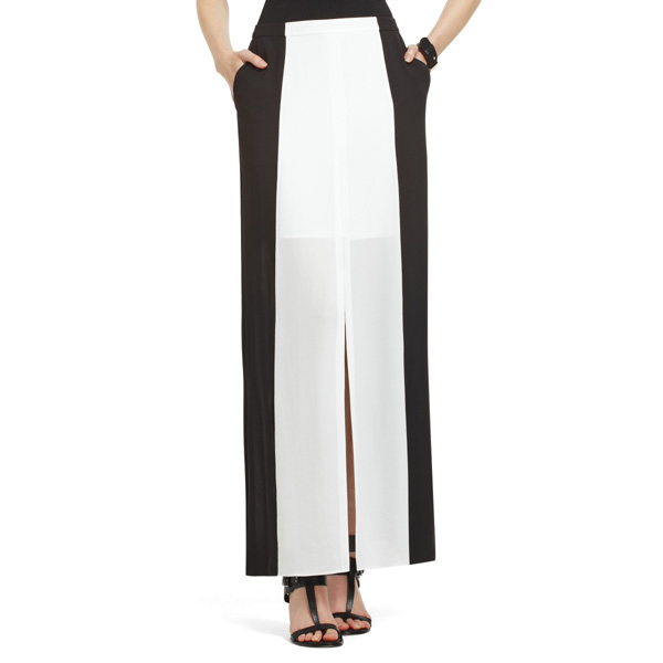 7 thigh high slit maxi skirts for fall fashion