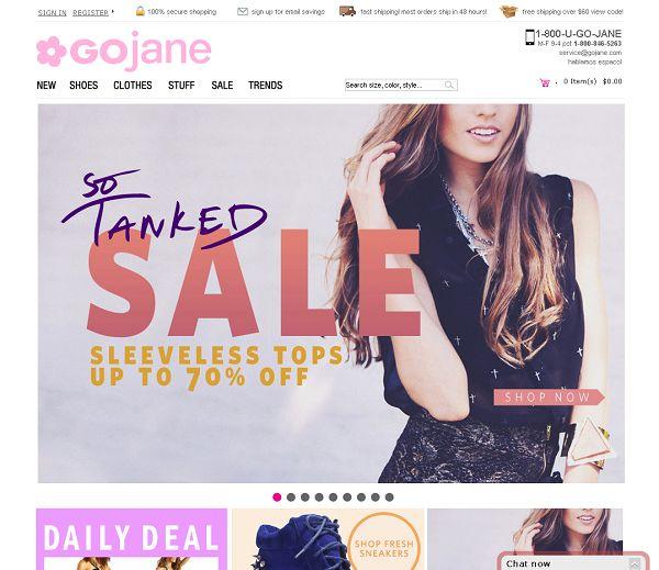 Gojane clothing store