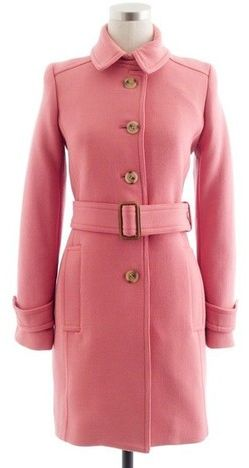 3. Pink Long Coat - 9 Prettiest Pink Coats of the Season → ?…