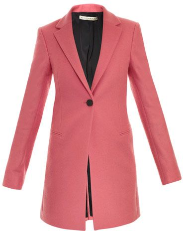 7. Pink Blazer Coat - 9 Prettiest Pink Coats of the Season → ?…