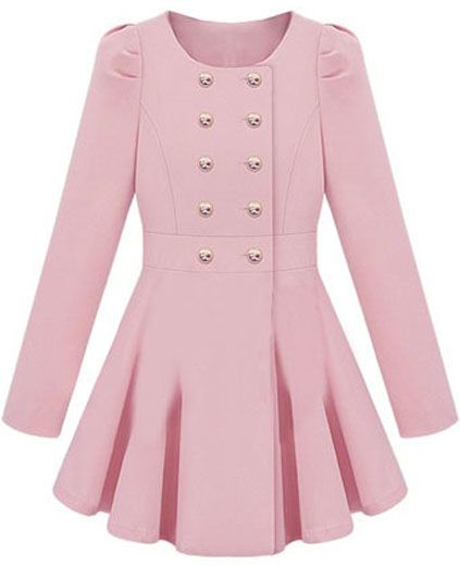 Pink Military Coat - 9 Prettiest Pink Coats of the Season ... …