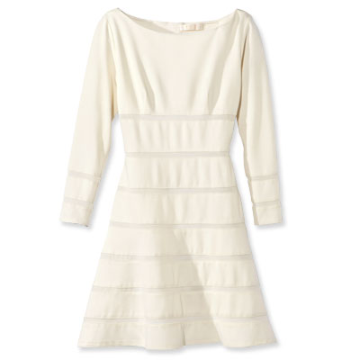 2. Winter White Dress - 8 Winter White Fashions to Wear This Season…