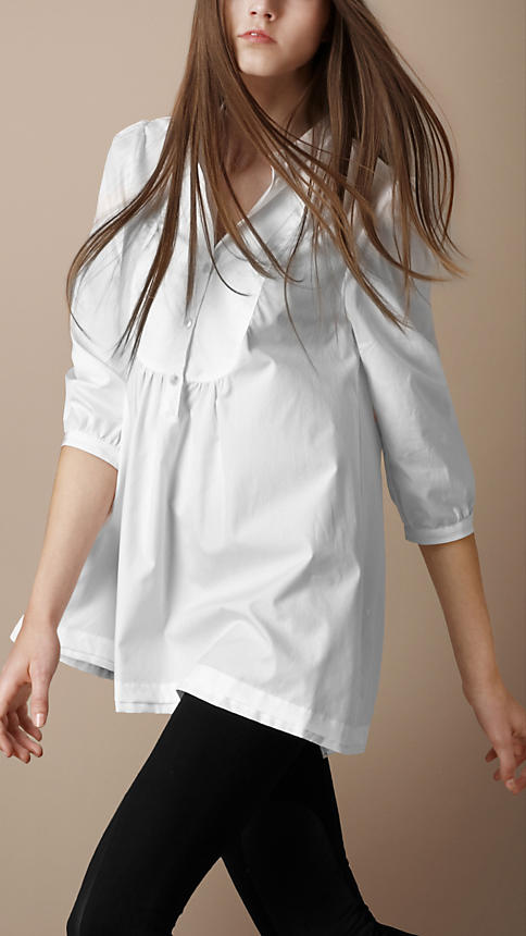 A White Cotton Tunic