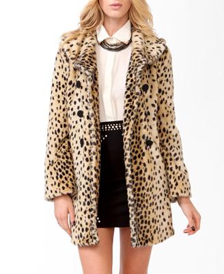 The Leopard Print Coat