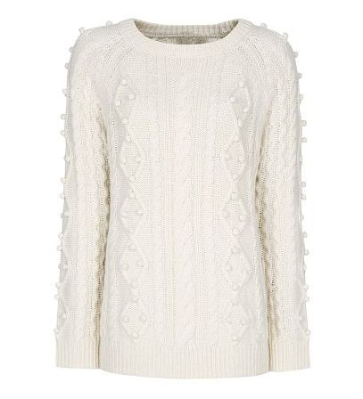 Winter White Sweater - 8 Winter White Fashions to Wear This Season…