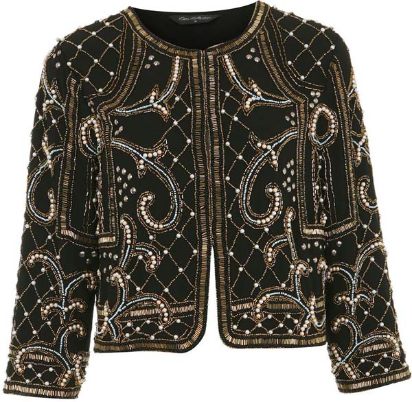 Baroque Embellished Jacket