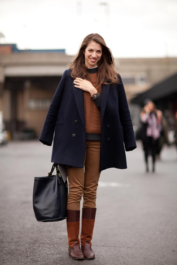 Riding Boots 30 Inspiring Winter Street Style Looks