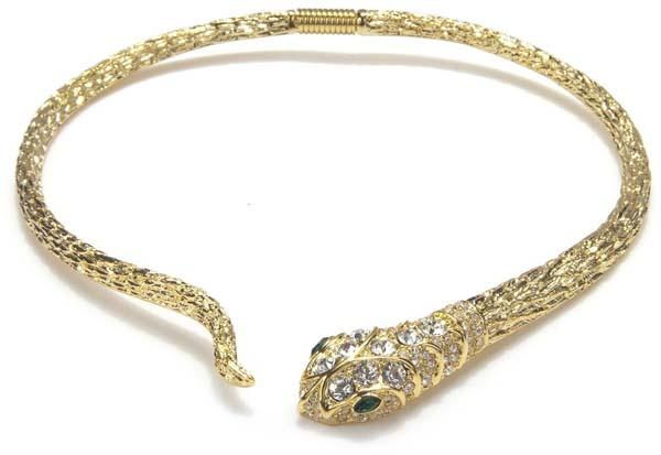 Snake Choker Necklace