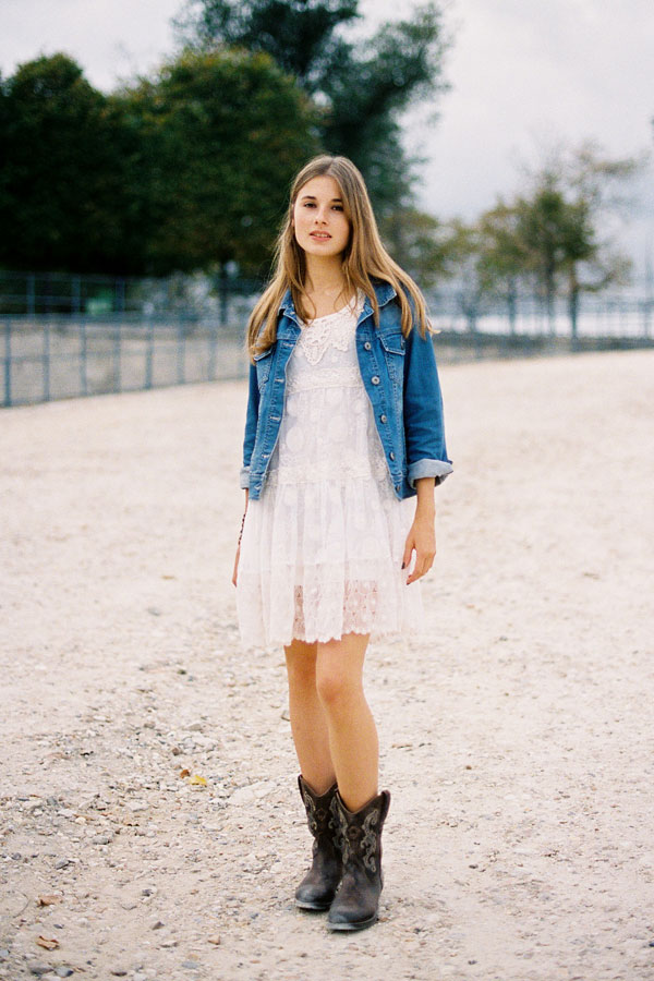 5. Match with Denim - 10 Ways to Wear Cowboy Boots ... → 👗…