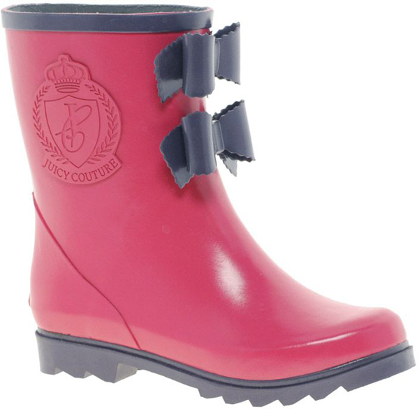 Bow Rain Boots - Cr Boot