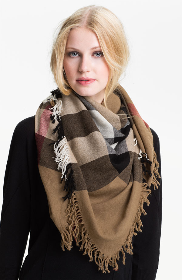 burberry check merino wool scarf 7 adorable winter