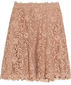 Flared Lace Skirt