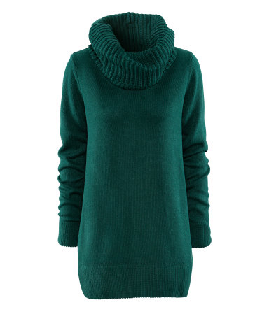 H&M Cowl Neck Sweater - 7 Emerald Green Pieces to Add to Your…