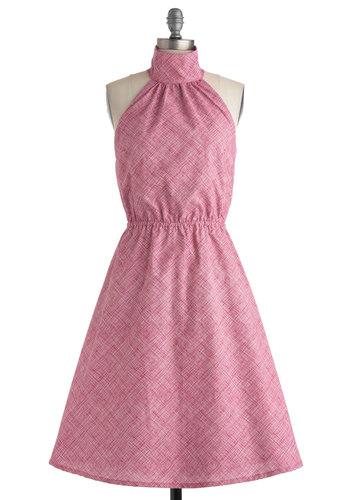Pink Halter Dress - 9 Fashionable Halter Dresses ... → 👗…