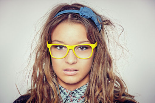 Bold Geeks With Glasses