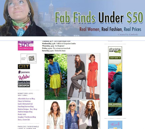 Fab Top 50 Award: Fab Finds Under $50 By Kimberly Brinkman