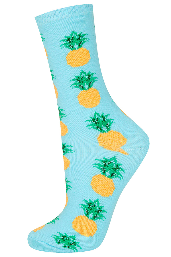 Pineapple Print Socks - 7 Fun Pineapple Print Clothes and…