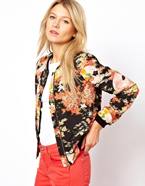 6. Floral Bomber… - 7 Stylish Spring Jackets for 2013 → ?…
