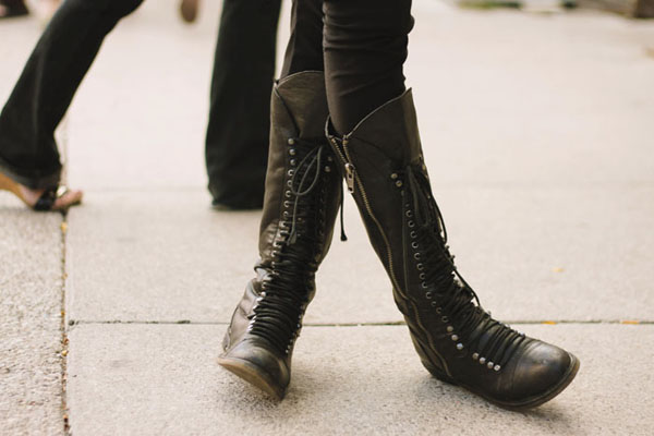 Combat Boots Ladies - Yu Boots