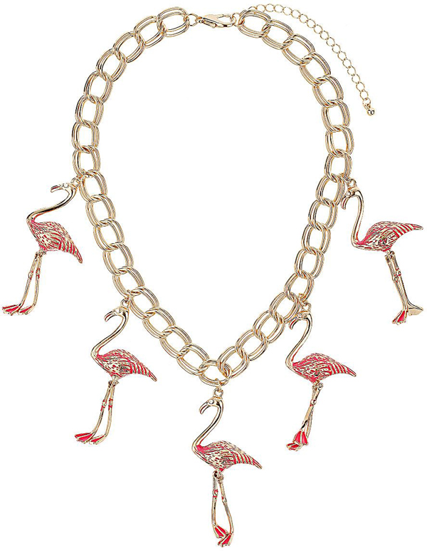 Flamingo Collar Necklace