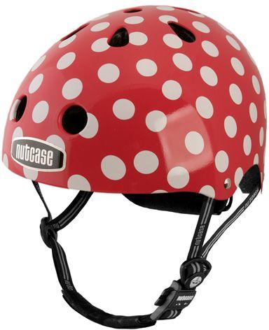 Polka Dot Helmet