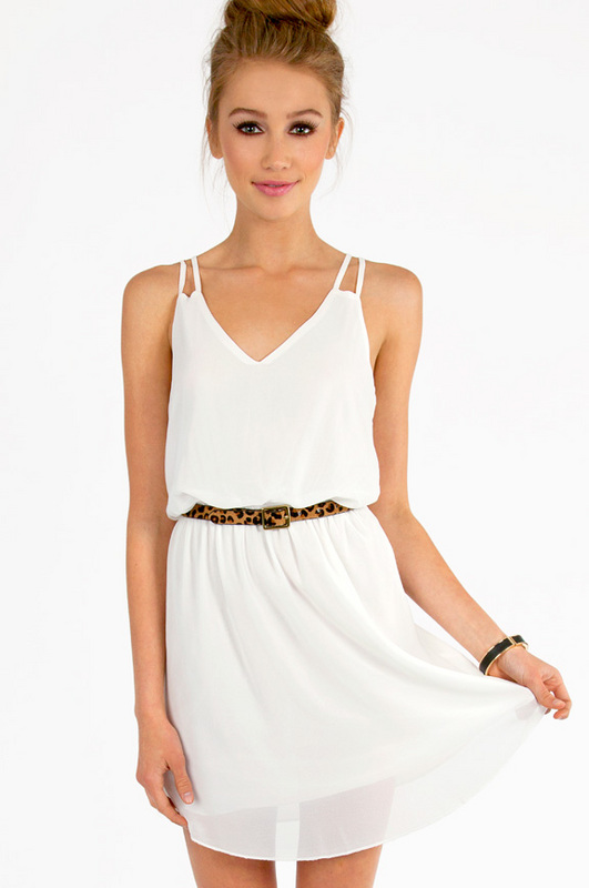 Tobi Square One Tank Dress
