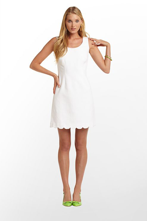 Lilly Pulitzer Nina Dress - 7 Adorable Little White Dresses to…