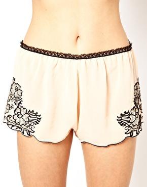 Chiffon Shorts…