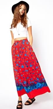ASOS Maxi Skirt in Floral Print - 7 Summer-Perfect Printed Maxi…
